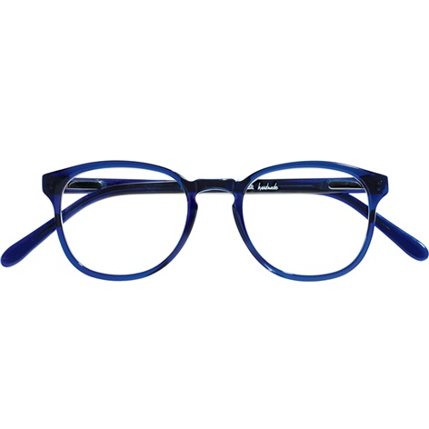 Retro Square Frame in Navy