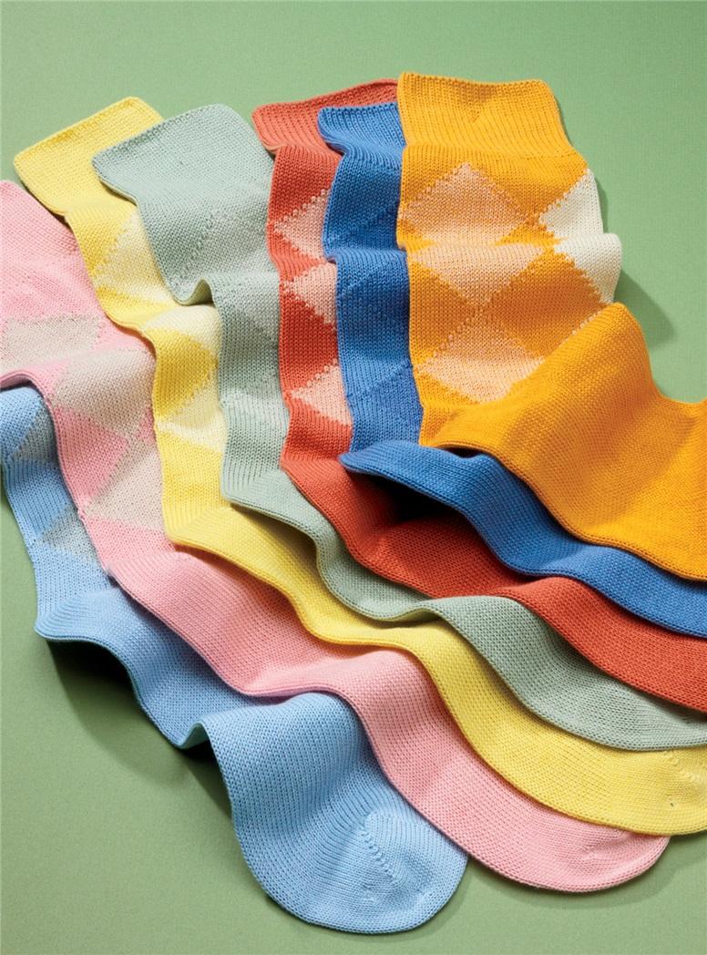 Sea Island Cotton Socks