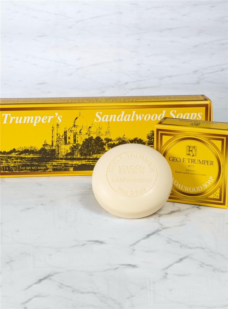 Sandalwood Three Soaps