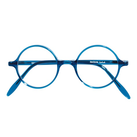 Slender Round Frame in Blue